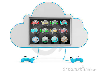 Cloud game concept