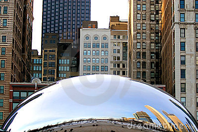 The Cloud Gate Editorial Image