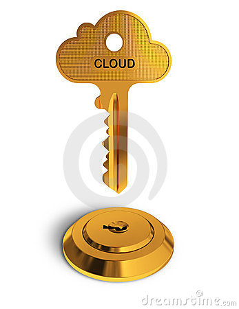 Cloud gold key