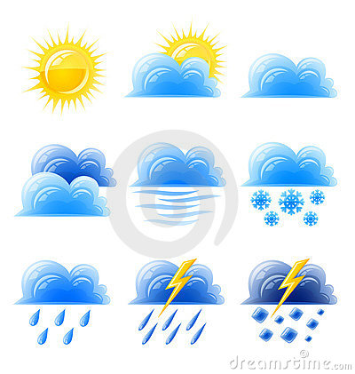 Cloud gold sun set weather climatic icon