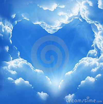 Free Cloud Heart Royalty Free Stock Photography - 19776377