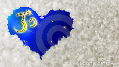 Cloud Heart And Om