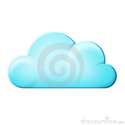 Free Cloud Icon Stock Image - 23478471