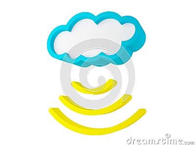 Cloud sending data