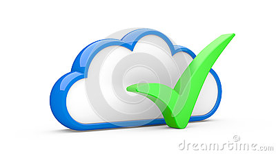 Cloud and sign
