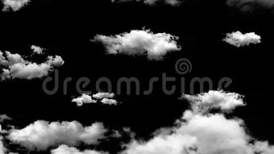 Cloud and sky animate background. Flying through presentation concept stock video