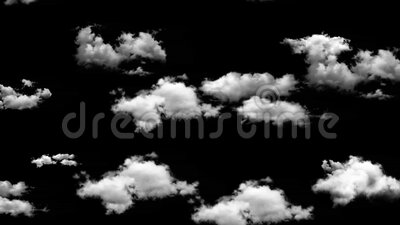 Cloud and sky animate background. Flying through presentation concept stock video footage