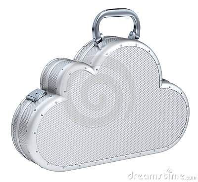 Cloud suitcase