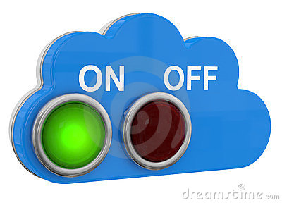 Cloud Switch Button on/off