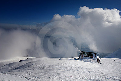 Cloud wall