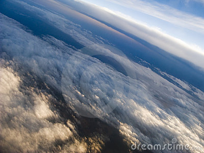 Clouds at 35,000 Feet