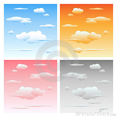 Free Clouds And Sky - Set Royalty Free Stock Photography - 15589357