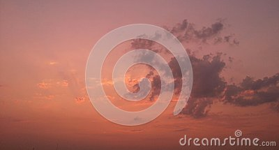 Clouds Editorial Stock Image