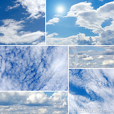 Clouds Collage