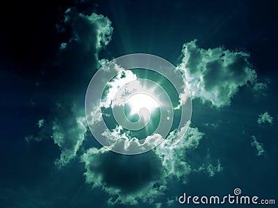 Clouds dance
