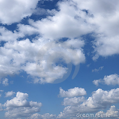Free Clouds In Blue Sky. Royalty Free Stock Images - 2042389