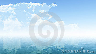Clouds and Ocean