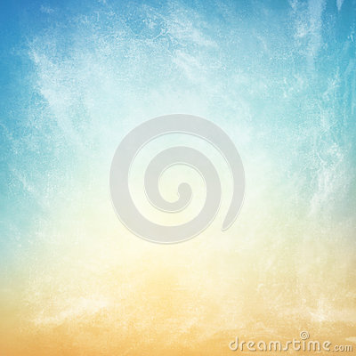 Free Clouds On A Textured Vintage Paper Background Stock Images - 46573974