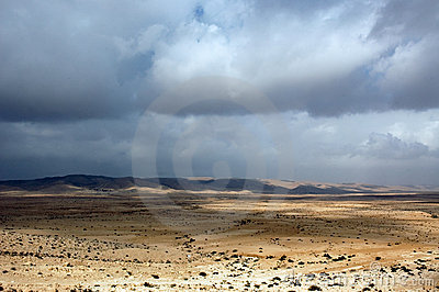 Clouds over the Negev