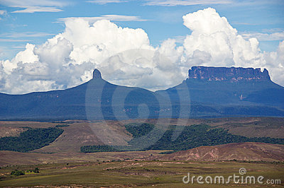 Clouds over tepui