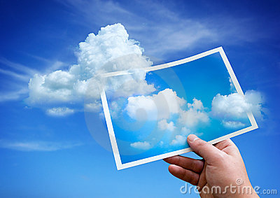 Clouds from a Picture