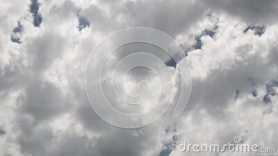 Clouds in the sky - Video background - 4K 30p stock footage