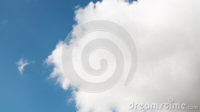 Clouds in the sky - Video background - 4K 30p stock video