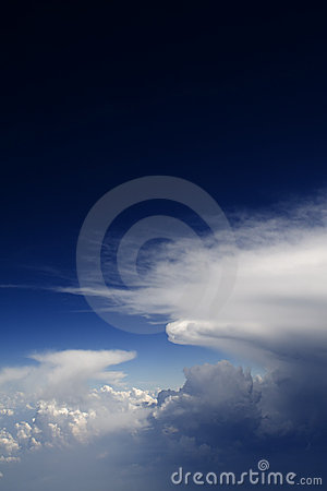 Free Clouds - View From Flight 137 Royalty Free Stock Photos - 4808008