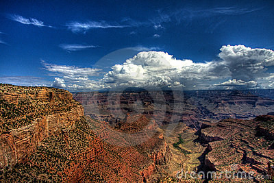 Cloudscape over Grand Canyon