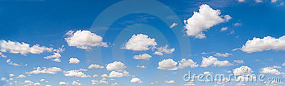 Cloudscape panorama