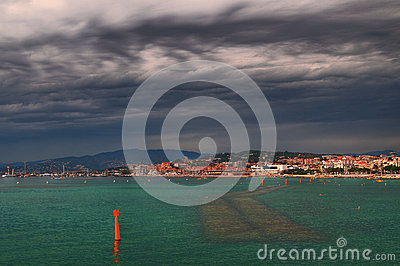 Cloudy Cannes