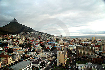 Cloudy Cape Town