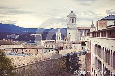 Cloudy Girona