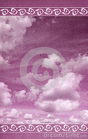 Cloudy Greeting Card