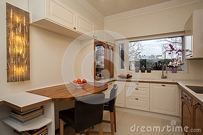 Cloudy home - bright interior