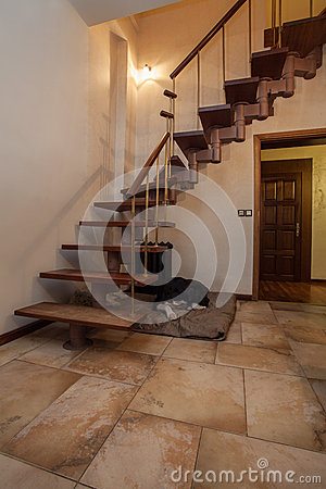 Cloudy home - stairs