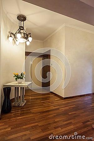 Cloudy home - Wooden corridor