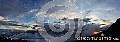 Cloudy Kinabalu