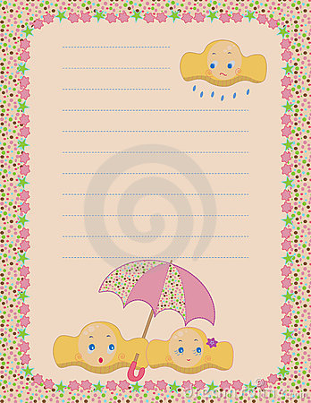 cloudy mood notepad