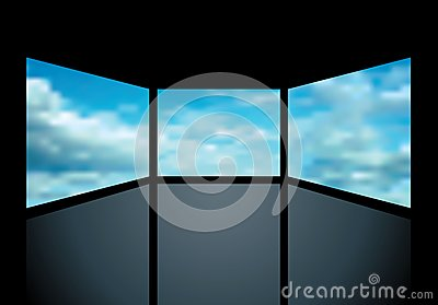 Cloudy screens