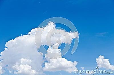 Cloudy Stormy sky