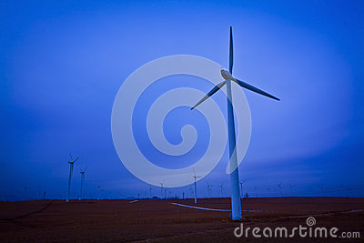 Cloudy wind turbines china