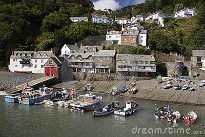 Clovelly - Devon - United Kingdom Editorial Stock Image