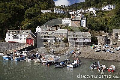Clovelly - Devon - United Kingdom Editorial Stock Image
