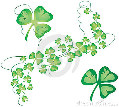 Free Clover 02 [VECTOR] Stock Photos - 2023733