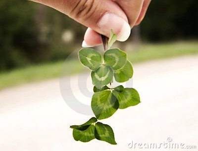 Clover and Hand