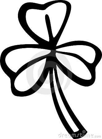 Clover or shamrock vector illustration