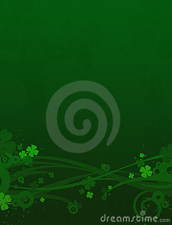 Clovers Background, St. Patrick's Day Royalty Free Stock Photo - Image: 1992785