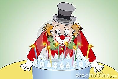 Clown birthday party