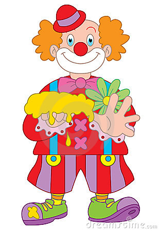 Clown Cartoon Illustration Stock Photo - Image: 11837650